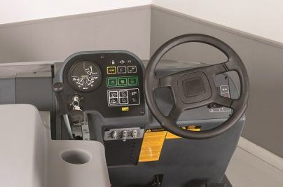 SW8000 Dash and Steering Wheel